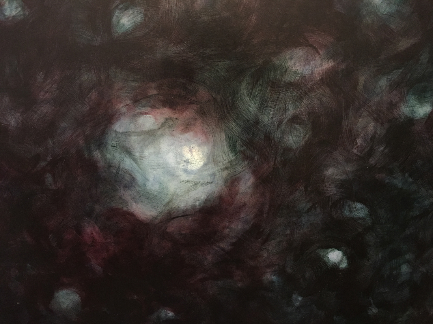 Galaxy (detail), 2009, Oil on panel, 5ft x 6ft
