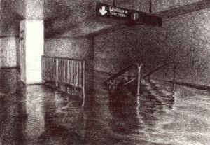 South Ferry & Whitehall St. Subway Stop