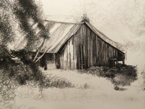 abandoned barn in progress