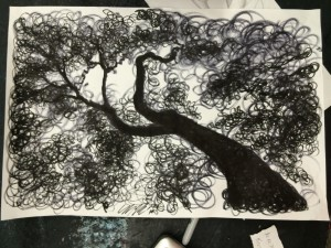 2nd Period 20 minute marker drawing