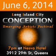 Conception LIC Emerging Artists Festival