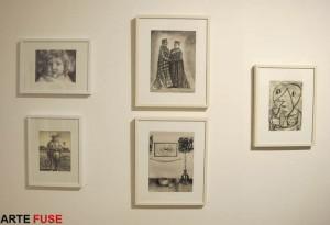 My drawings at Van Der Plas Gallery