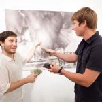 "Gallerist Vaughn Bergen promotes ""Fate"""
