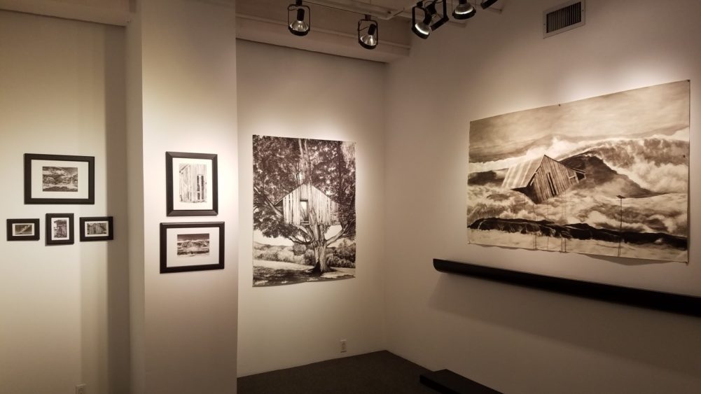 Installation Shots, Photos by Nathan Windsor, for Close Up NYC's Event at ACA Galleries