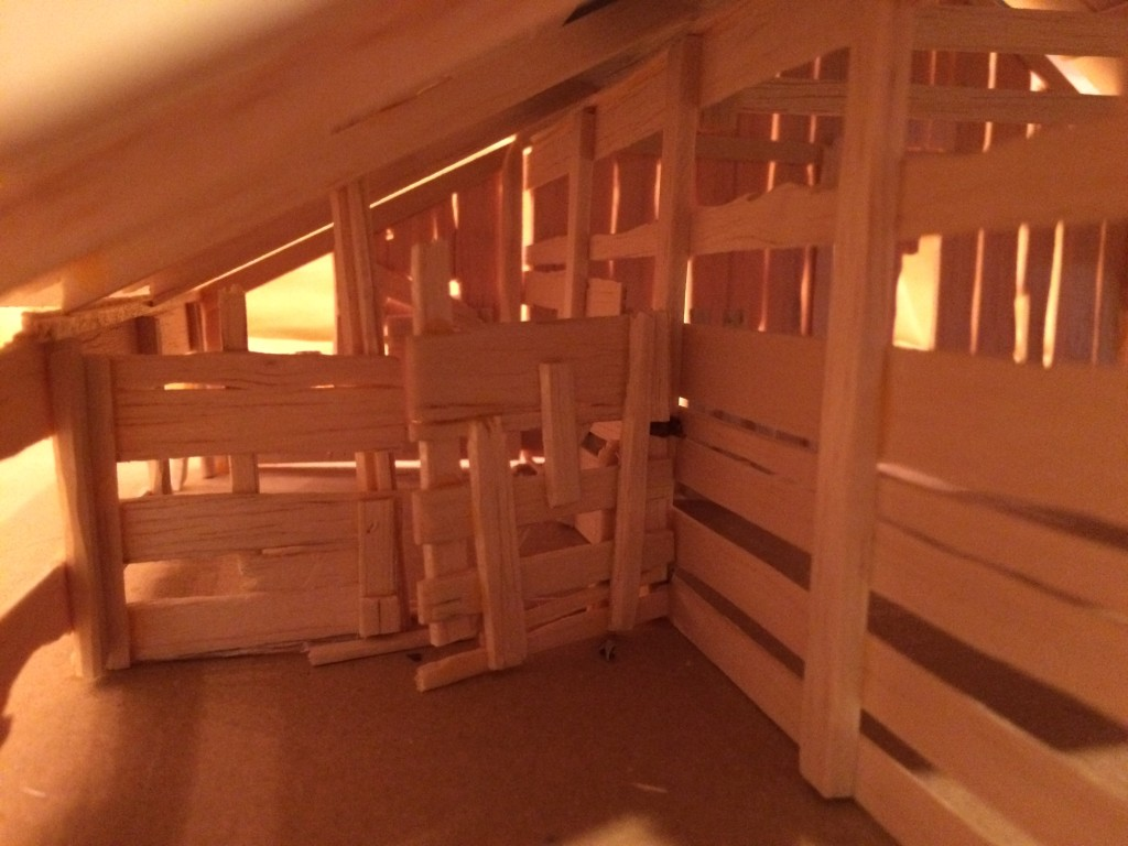 Barn Model Interior View 2