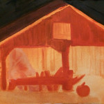 Hallow-barn Drawing 2