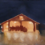 Hallow-barn Drawing 4
