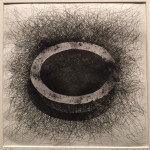 """Coal Dust"" by Esther Reinhart, also on view"