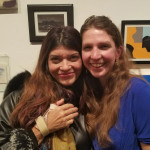 Thank you Elisa Jimenez for coming to my opening!