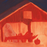 Hallow-Barn Sketch 2
