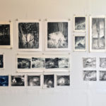 Monotypes at Greenpoint Open Studios