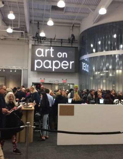 Art on Paper opening on Thursday Night