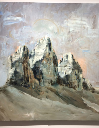 Philip Mueller, Dolomitti #2, 2017, Oil on canvas, Carbon 12, Dubai, UAE