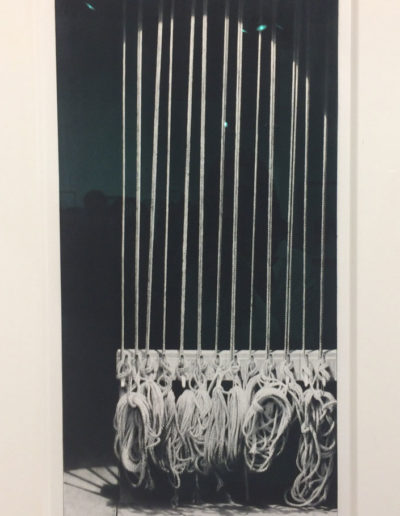 Craig McPherson, Hemp Lines I, 2011-12, drypoint and mezzotint, Forum Gallery, New York, NY