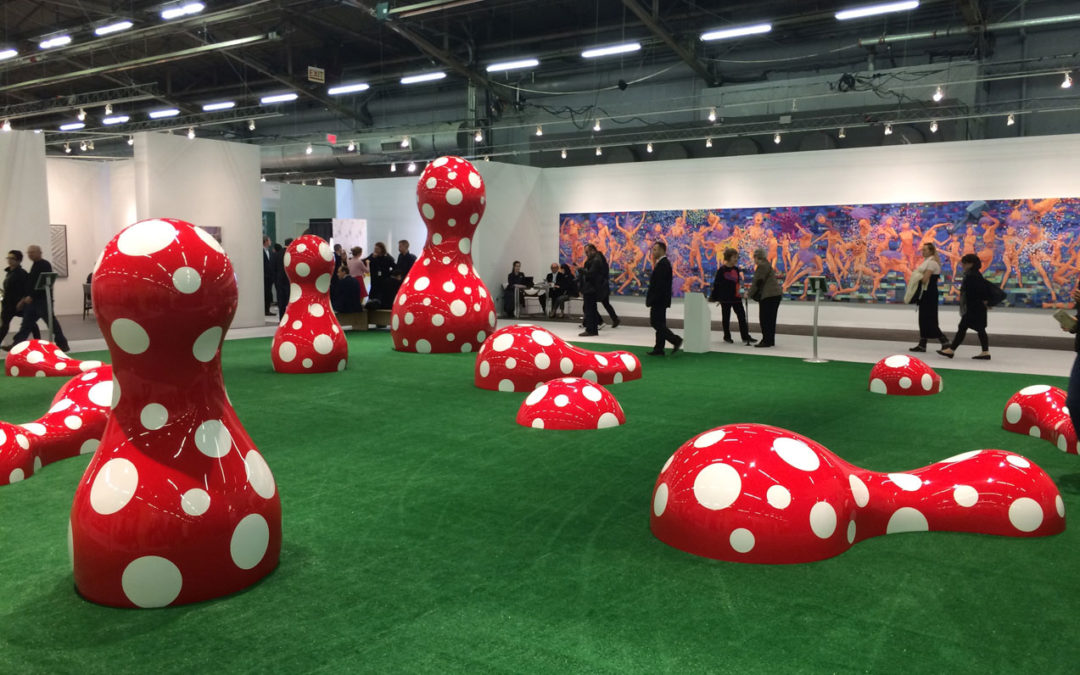 Yayoi Kusama, Guidepost to the New World, 2016, Victoria Miro, London, UK