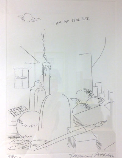 Raymond Pettibon, I Am My…, 2001, Copperplate etching, Whitechapel Gallery, London, UK