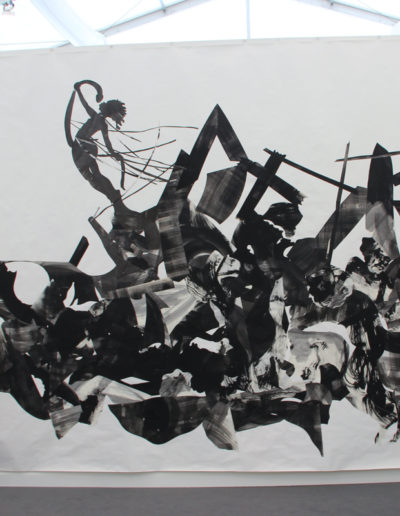 Kara Walker, Rift of the Medusa, 2017, Gouache, Sumi ink and collage on paper with gessoed ground, Sikkema Jenkins & Co., New York