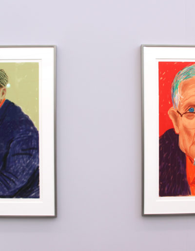 David Hockney, Pace Gallery, New York