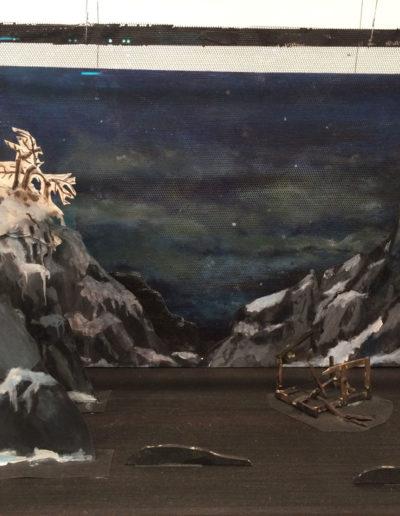 Ragnar Kjartansson, Klang der Offenbarung Dioramas, 2016, mixed media in glass vitrine, i8 Gallery, Reykjavik, Iceland