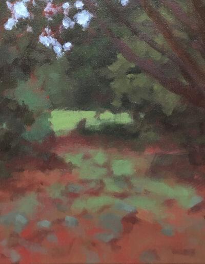 Sunday Light, 2020, Acrylic on canvas, 12x16 inches